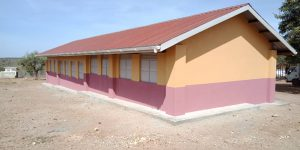 Tororo Cement constructs a classroom block, a kitchen and renovation of the school in Moroto Karamoja